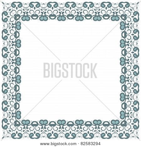 Abstract Simmetric Square Frame