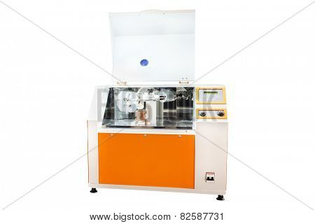 laboratory apparatus for heating isolated under the white background