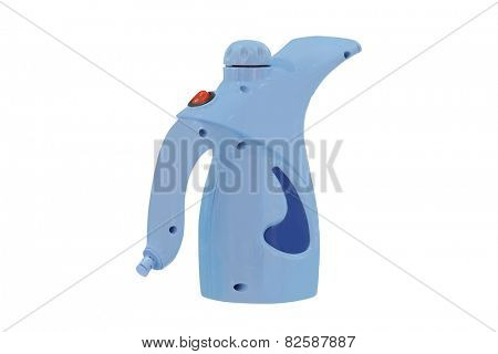 Portable steamer for clothes isolated under the white background