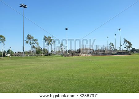 Sports Fields At Bill Barber Park