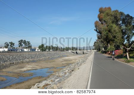 San Diego Creek Bike Trail