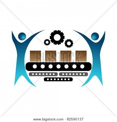 An image of a manufacturer team icon.