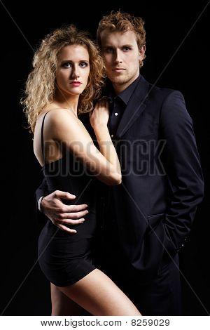 Fancy Couple
