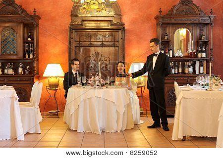 Hochzeit Abendessen