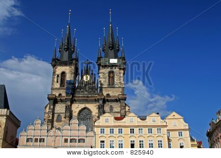 Church At Prague, Czech