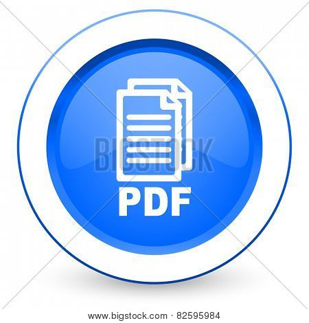 pdf icon pdf file sign