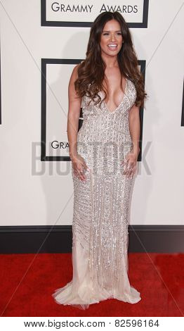LOS ANGELES - FEB 8:  Rocsi Diaz at the 57th Annual GRAMMY Awards Arrivals at a Staples Center on February 8, 2015 in Los Angeles, CA
