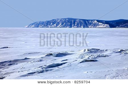 Lake Baikal. Winter.