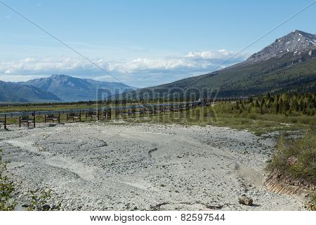 Alaska's Trans-Alaska Pipeline