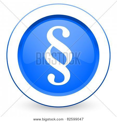 paragraph icon law sign