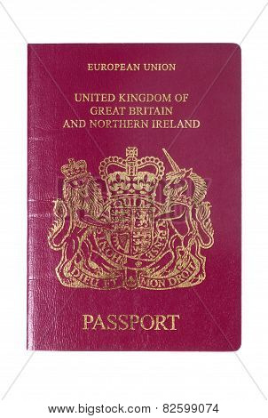 Uk European Passport Front Cover