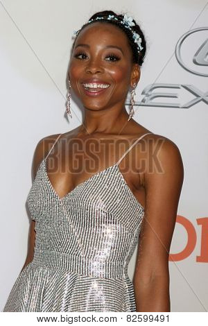 LOS ANGELES - FEB 6:  Erica Ash at the 46th NAACP Image Awards Arrivals at a Pasadena Convention Center on February 6, 2015 in Pasadena, CA