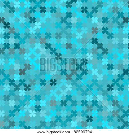 Abstract Monochromatic Geometric Background, Vector