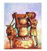 Medieval ilustration poster