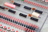 stock photo of transistor  - Processor chip - JPG