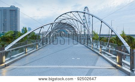 Helix Bridge singapore travel landmark