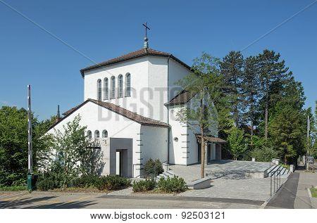 St. Martin Church In Zurich