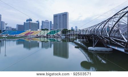 Marina Bay Sands at Gardens by the Bay