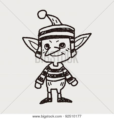 Elf Doodle