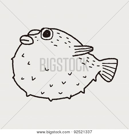 Puffer Doodle