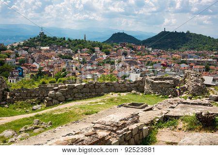 View Of Plovdiv City, Bulgaria