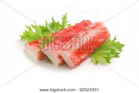Crab Stick (imitation Of Surimi)