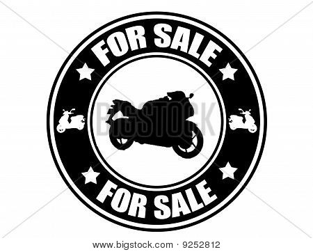 Motorcycle For Sale  Stamp