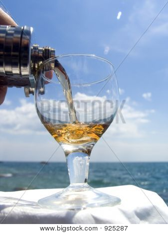 Wine And The Sea