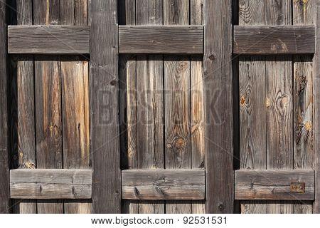 Door. Old wood texture. background old panels for design