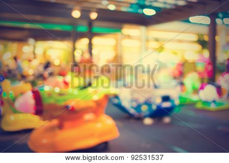 Blurred background Art classes for kids - vintage effect style pictures.