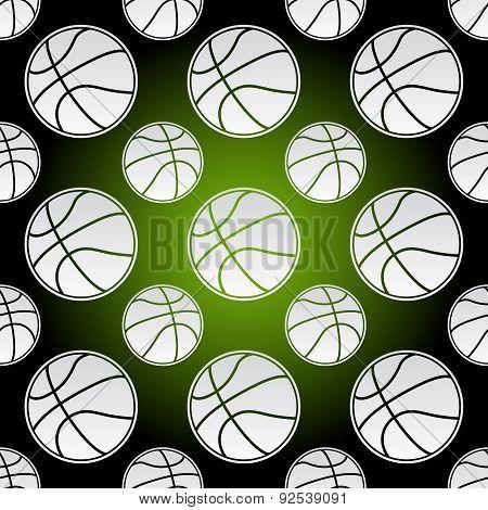 Seamless Basketball Balls