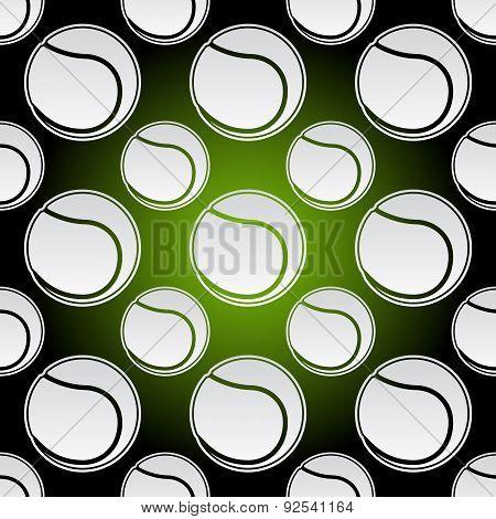 Seamless Tennis Balls