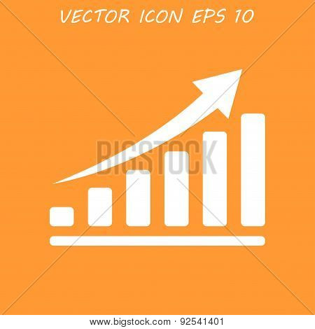 Vector Red Economic Icons