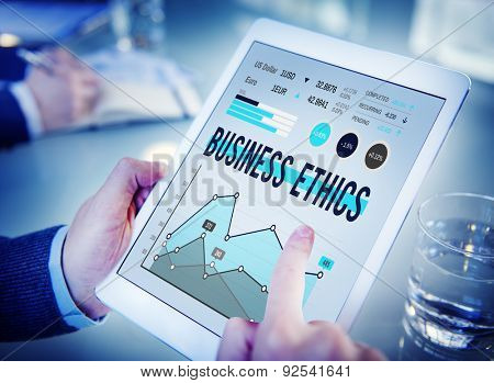 Business Ethics Awareness Honesty Integrity Concept