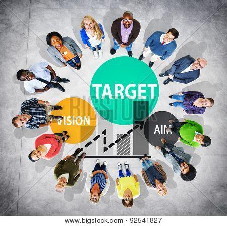 Target Goal Aspiration Aim Vision Vision Concept