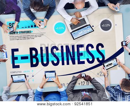E-business Digital Marketing Networking Online Concept