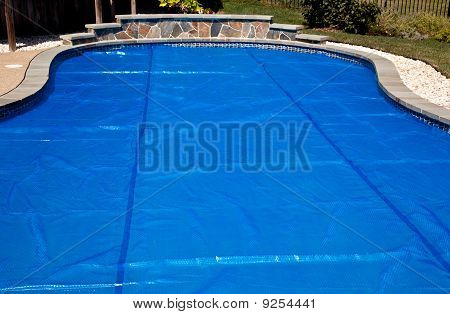 Blue Solar Pool Cover