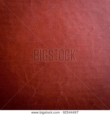 brown leather texture may used as background