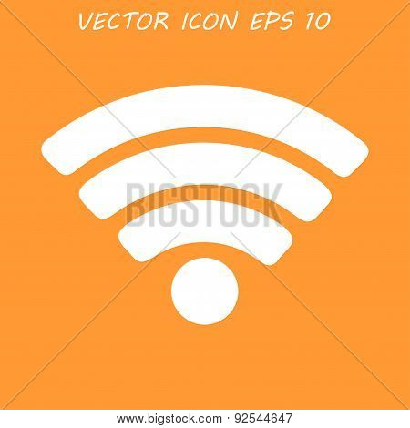 Vector Wi-fi Network Icon