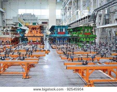 Skoda Auto Factory Hall