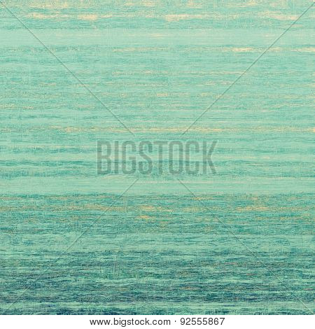Grunge old texture as abstract background. With different color patterns: yellow (beige); green; cyan