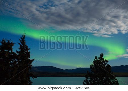Aurora Borealis (Polarlichter) Display