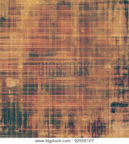 Old school textured background. With different color patterns: yellow (beige); brown; gray; black
