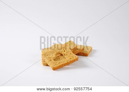 slices of toast bread with heart shaped cut out