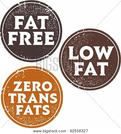 Fat Free Diet Stamps