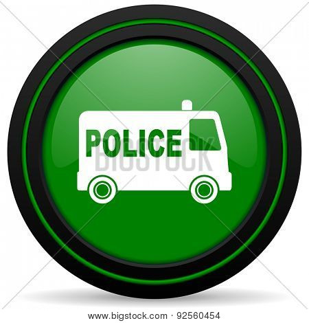 police green icon