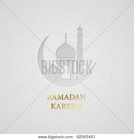 Ramadan greetings background. Ramadan Kareem