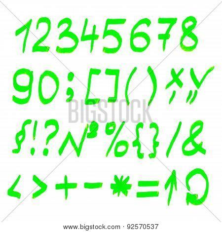 Vector highlighter elements