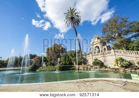 Ciudadela Park, Barcelona, Spain