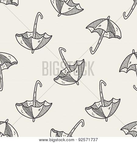Umbrella Doodle Drawing